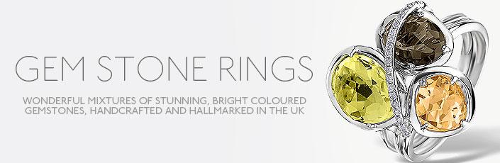 Gem-Stone Rings