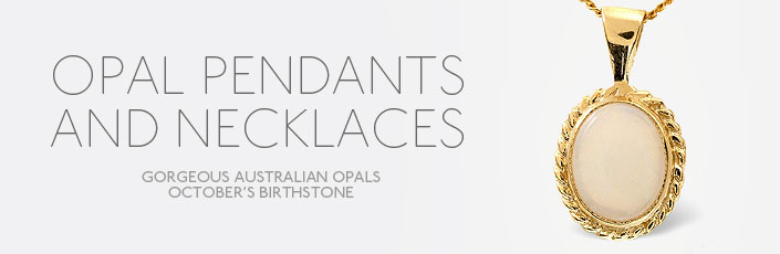 Opal Pendants And Necklaces