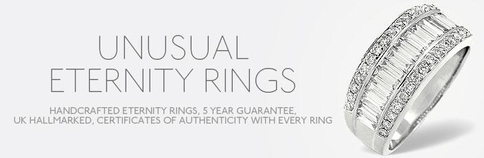 Unusual Eternity Rings