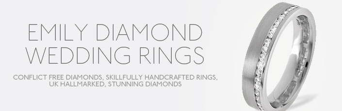 Emily Diamond Wedding Rings