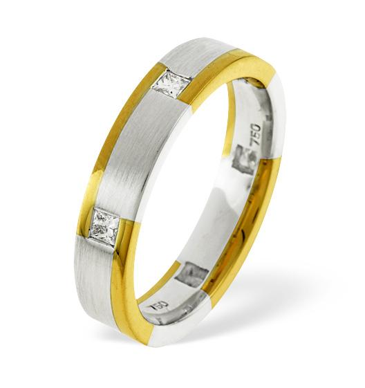Lauren 6 Stone Wedding Rings