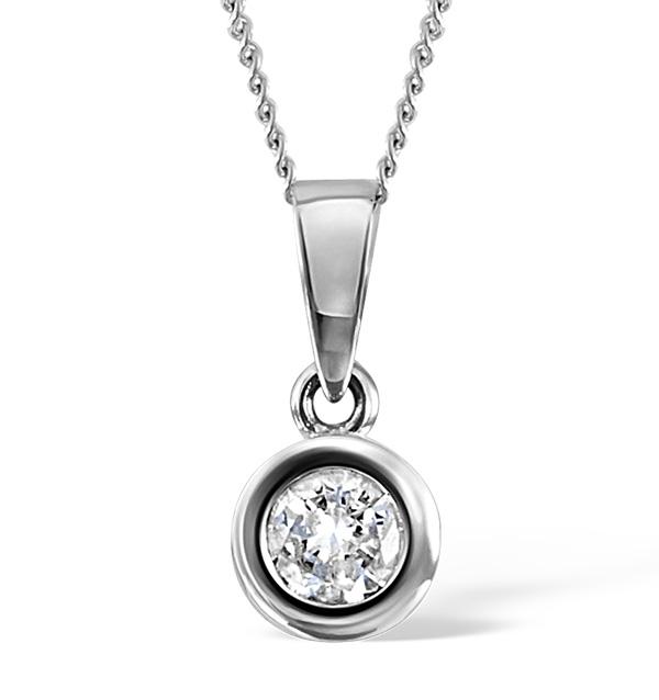 Emily Diamond Pendant Necklaces