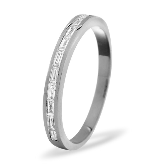 Lily Half Eternity Rings