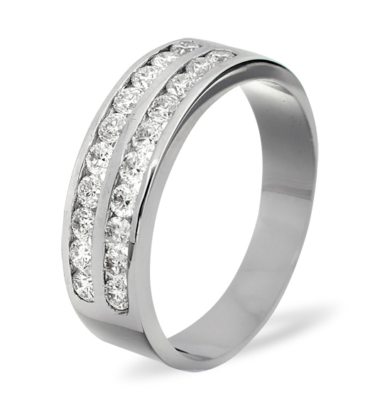 Lucy Half Eternity Rings