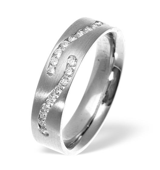 Leah Twin Swirl Wedding Rings