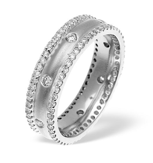 Chloe 2 row Wedding Rings
