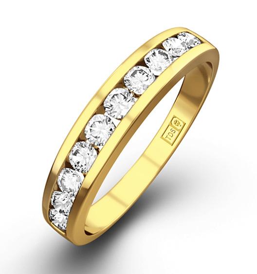 Half Eternity Rings Size J