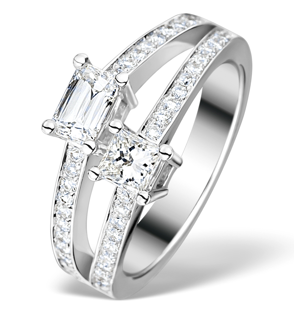 Unique Platinum Engagement Rings