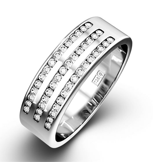 Amy Half Eternity Rings