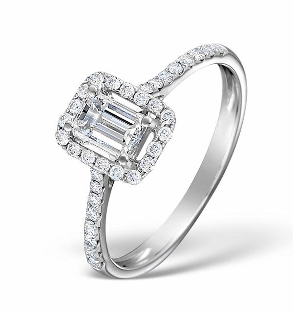 Ella Emerald Cut Engagement Rings