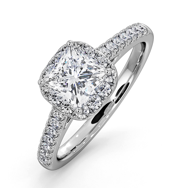 Roxy Platinum Engagement Rings