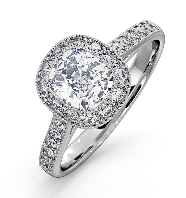 Danielle Platinum Engagement Rings