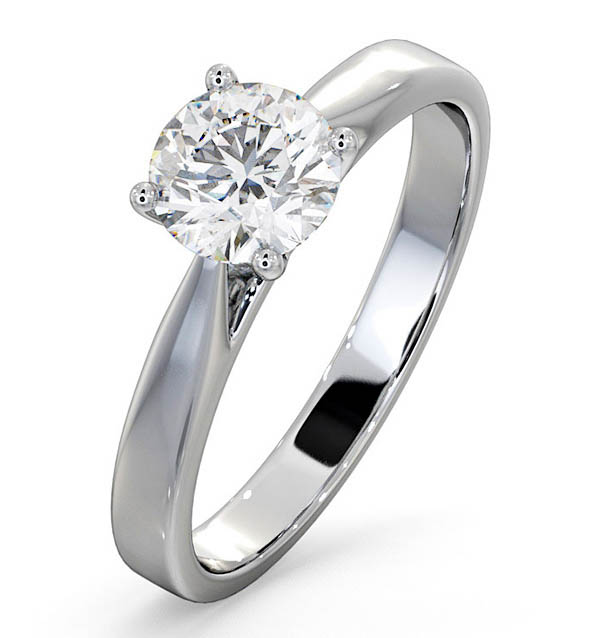 Petra Platinum Engagement Rings