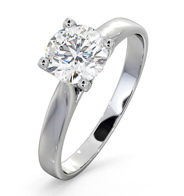 Grace Platinum Engagement Rings