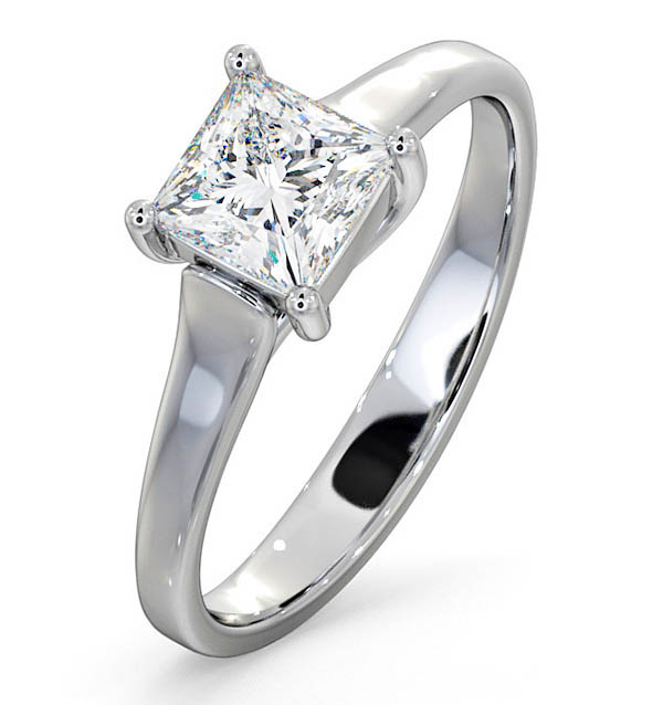 Lucy Platinum Engagement Rings