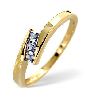 Tanzanite Ring Tanzanite 9K Yellow Gold