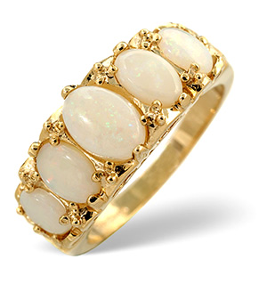 Opal Ring Opal 9K Yellow Gold