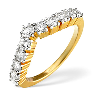 18K Gold Diamond Ring 0.70ct
