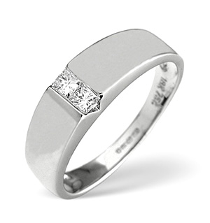 18K White Gold Diamond Ring 0.15ct