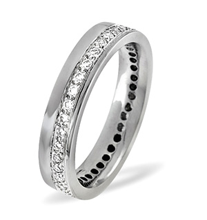 Rae Platinum Wedding Ring 0.27CT H/SI