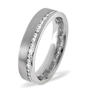 Emily Palladium Diamond Wedding Ring 0.38CT H/SI