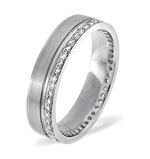Chloe 18K White Gold Diamond Wedding Ring 0.27CT G/VS