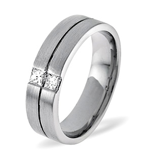 Olivia Platinum Wedding Ring 0.16CT H/SI