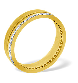 Chloe 18K Gold Diamond Wedding Ring 0.27CT H/SI