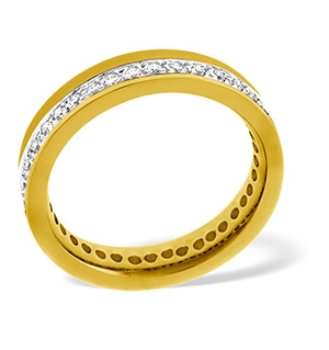Emily 18K Gold Diamond Wedding Ring 0.38CT G/VS
