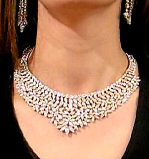 Exclusive Diamond Necklace 57CT 18KW