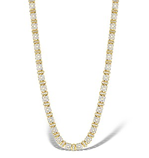 9K Gold Diamond Flower Design Necklace