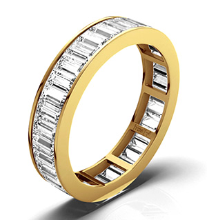 GRACE 18K Gold DIAMOND FULL ETERNITY RING 2.00CT H/SI