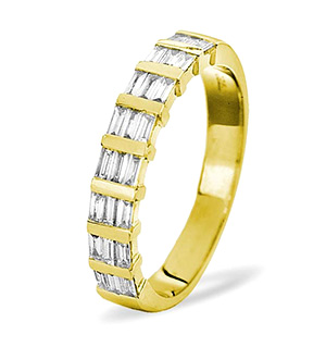 SKYE 18K Gold Diamond ETERNITY RING 0.50CT G/VS