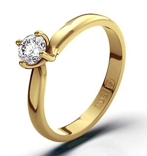 Lily 18K Gold Diamond Ring 0.33CT-F-G/VS