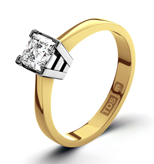 Lauren 18K Gold Diamond Engagement Ring 0.33CT-G-H/SI