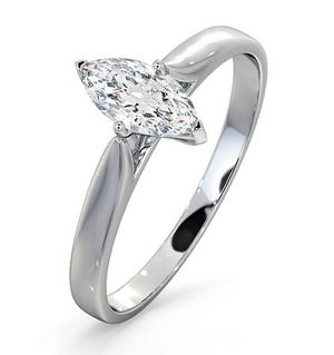 Marquise Solitaire Rings