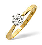 9K Gold Engagement Rings
