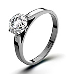 1ct Enhanced Diamond Engagement Ring