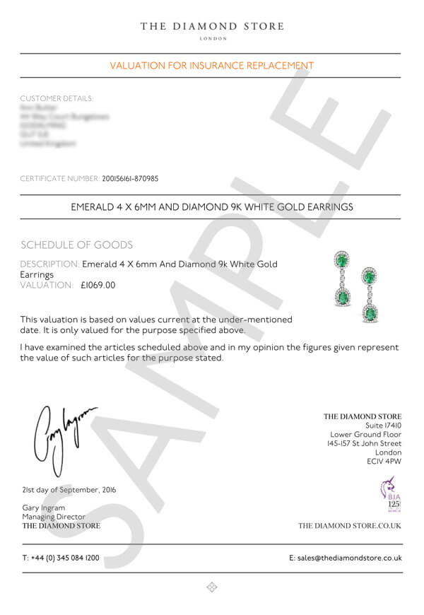 Diamond certificates provided by the diamond for Diamond certificate of authenticity template